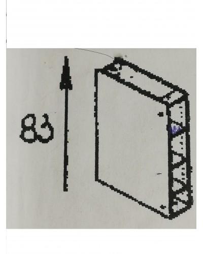 Spodnji element odprti 20
