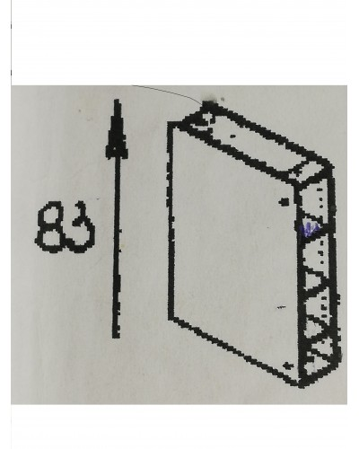 Spodnji element odprti 30
