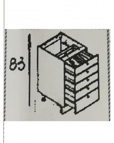 Predalnik 5x ali 3+1 60