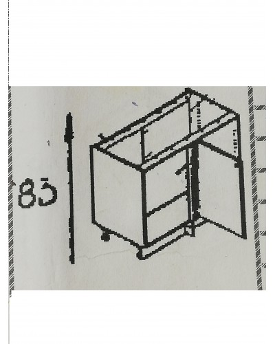 Spodnji kotni element 105