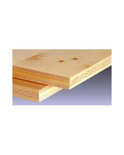 Lepljena plošča Smreka troslojna 19mm