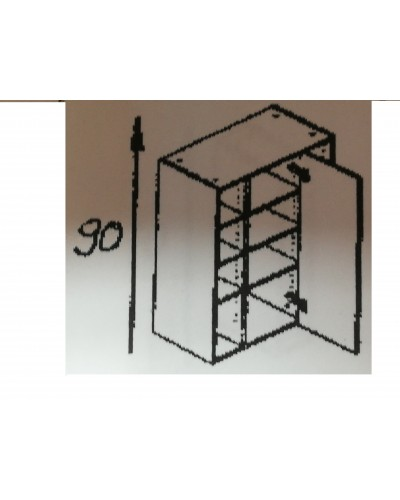Zgornji kotni element 60