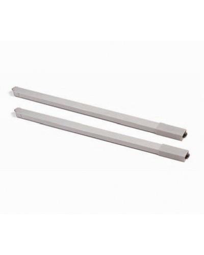 Reling kvadratni 450mm, sivi