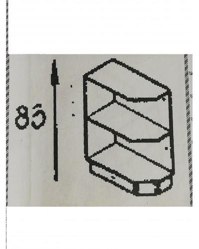Spodnji element zaključni 20