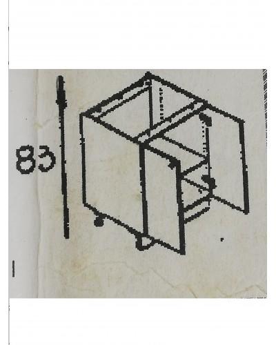 Spodnji element 2x vrati 80