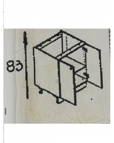 Spodnji element 2x vrati 110