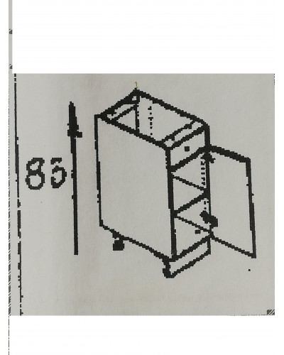 Spodnji element 1xpredal 1x vrata 30
