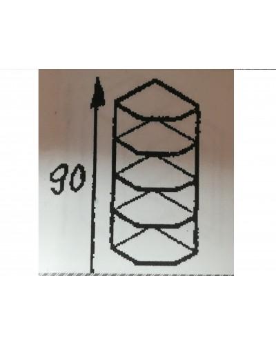 Zgornji zaključni element 40X40