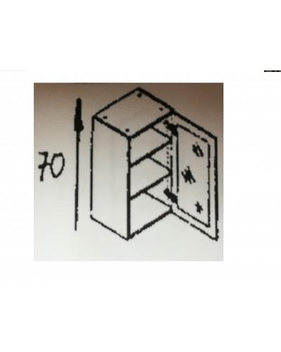 Zgornji element 1x steklo 40 MANJŠI